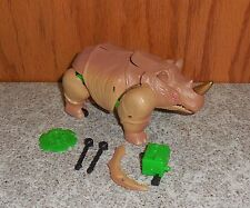 Transformers Beast Wars RHINOX complete Original Rhino Figure