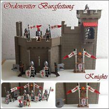 Playmobil Ritter Set - Kreuzritter / Ordensritter Armee mit Burgruine /Crusaders
