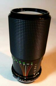 Zoom Lens 80-200mm f4 .5 Manual Focus for  Olympus OM or NIKON AI.