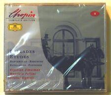 CD Chopin Compl. Ed. 2 - Ballades/Etudes - Zimerman/Pollini/Ugorski - Neu (R25)
