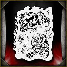 Clowns 3 Airbrush Stencil Template Paint Airsick