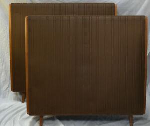 Quad ESL 57 Electrostatic Speakers - Vintage Made in England 1976 - ESL-57