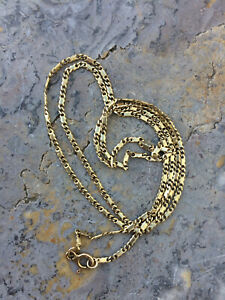 Vintage 14ct Gold Chain Necklace 20 inch 4g 1.5mm