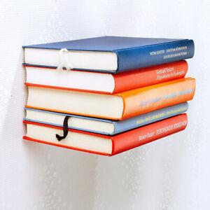 Schwebendes Bücherregal, Unsichbares Bücherregal, Schwebende Bücher