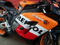 R&G Black Classic Style Crash Protectors for Honda CBR1000RR Fireblade 2006