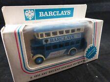 Lledo - Barclays Bus - AEC Regent - Diecast - Ltd Edition - Mint in Original Box