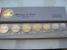 COFFRET MONNAI DE PARIS FLEURS DE COINS 1964 FDC