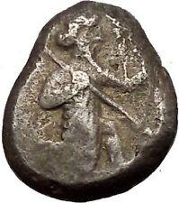 450BC Artaxerxes I Darius III Achaemenid Empire Silver Greek SIGLOS Coin i53454