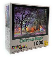 Puzzle Works Christmas Series 1000 Piece Jigsaw Puzzle - Christmas Magic