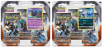 Pokemon Sun & Moon Burning Shadows 3-Pack Booster Blister Packs Set of 2