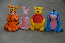 3D Edible Winnie The Pooh Cartoon Fondant Cake Topper For Birthday,Baby Shower