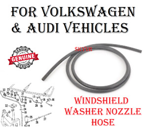 AUDI VW A3 A4 A8 Q5 Beetle CC Eos Golf Jetta Passat Windshield Wiper Washer Hose