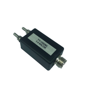 1Pcs YY-100 (M) 1:4 BALUN miniature Balun Accessory Tool for HAM Radio Antenna