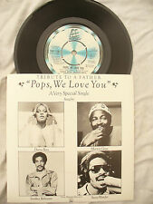 TRIBUTE TO A FATHER POPS WE LOVE YOU motown 1136 ross gaye ........ 45rpm