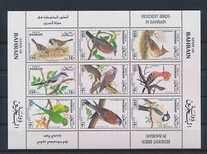 LO13769 Bahrain animals fauna flora birds good sheet MNH