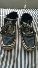 Used Vans Skater Shoes Trashed but good for beaters size 9.5