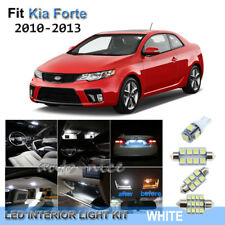 For 2010-2013 Kia Forte Xenon White LED Interior Lights Kit 7 Pieces