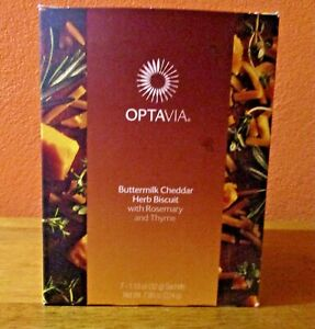 OPTAVIA  Buttermilk Cheddar Herb Biscuit  1 New Box of 7 Fuelings