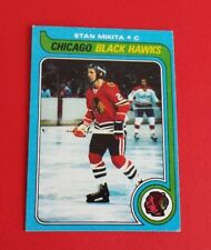 1979/80 Topps Hockey Stan Mikita Card #155***Chicago Blackhawks***
