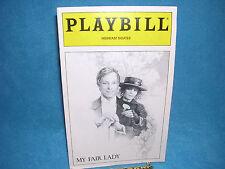Playbill: My Fair Lady, Richard Chamberlain , November 1993,  Merriam Theater