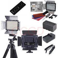 YN-300 II LED Video Light + 4400mAh Battery + Charger Kit for Canon Nikon DSLR