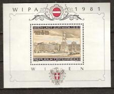 Austria # B 345 Mnh Stamp Exhibit Architecture