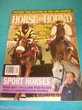 HORSE and HOUND - SPORT HORSES - MARCH 23 1995