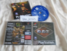 O.D.T. PS1 (COMPLETE) rare black label ODT Sony PlayStation