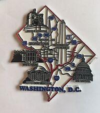 Washington Dc Refrigerator Fridge Magnet