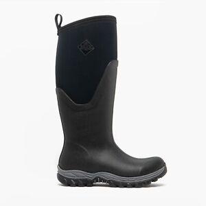 Muck Boots ARCTIC SPORT II TALL Ladies Rubber Wellington Boots Black