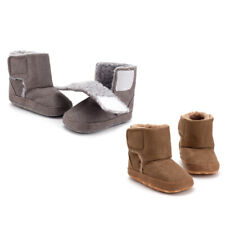 Xmas Toddler Baby Kids Boots Boys Girls Winter Warm Soft Booties Crib Shoes