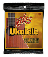 2 Sets GHS Set 100 Baritone Nylon Ukulele Strings
