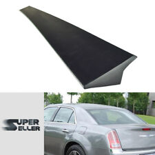 LA Stock Sedan Chrysler 300 300C 2nd Rear Roof Spoiler Window Visor Unpaint 2013