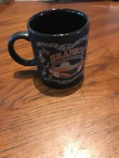 Branson Missouri ~ Music ~ Cup Souvenir Coffee Mug  ~ Black w/ Gold & Silver ~