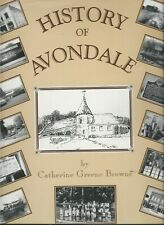 BIRMINGHAM,AL--HISTORY OF AVONDALE BY CATHERINE GREENE BROWNE--SIGNED,NUMBERED