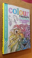 Colour Therapy - An Anti-Stress Colouring Book (Hardback), Art book, Brand New