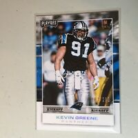 F50351  2017 Playoff Kickoff #110 Kevin Greene Panthers /299