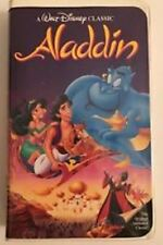VERY RARE- WALT DISNEY'S- BLACK DIAMOND--#1662--Aladdin (VHS, 1993) CLAMSHELL