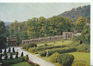 Derbyshire Postcard - Chatsworth Garden - Paxton's Wall Cases - Ref 9767A