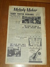MELODY MAKER 1948 #774 JUN 5 JAZZ SWING TEDDY FOSTER PHIL HARRIS IVY BENSON