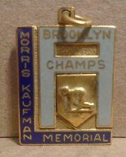 1947 100yd dash brooklyn n.y. champs morris kaufman memorial keychain