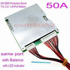 New 72V 50A/150A BMS PCM for 24S String LiFePO4 LimPO4 Battery Pack with Balance