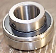 "Premium UC207-20 Insert Bearing 1-1/4"" ID w/Set Screws Re-lube Type Spherical OD"