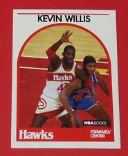 # 98 KEVIN WILLIS ATLANTA HAWKS 1989 NBA HOOPS BASKETBALL CARD
