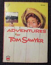 1955 ADVENTURES OF TOM SAWYER by Mark Twain VG- 3.5 Wonder Books 035-025