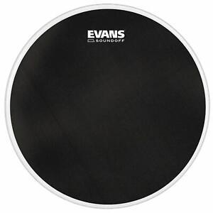 "Evans Soundoff 22"" Mesh Bass Drum Head, Practise / Electronic Triggers - BD22SO1"
