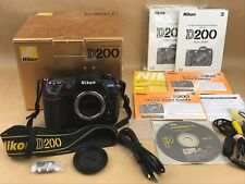 Nikon D D200 10.2MP Digital SLR Camera with box & Papers - Clean