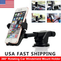 Car Windshield Dashboard Suction Cup Mount Holder For Cell Phone Universal