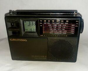 Vintage Grundig Traveller II 7 Band Travel Radio