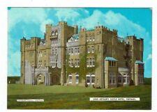 CORNISH POST CARD COLOUR PHOTO KING ARTHUR`S CASTLE HOTEL TINTAGEL